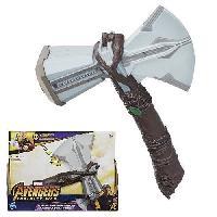 Arme Fictive - Baton - Epee - Baguette AVENGERS INFINITY WAR - Marteau Electronique de THOR - Carnaval - Marvel