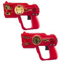Arme Fictive - Baton - Epee - Baguette AVENGERS Set de 2 pistolets Laser Tag pour enfant - Ekids