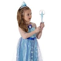 Arme Fictive - Baton - Epee - Baguette LA REINE DES NEIGES Baguette Magique Musicale Elsa - Jakks Pacific