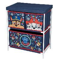 Armoire PAT PATROUILLE Meuble de Rangement enfant 3 tiroirs - 54 x 30 x 60 cm