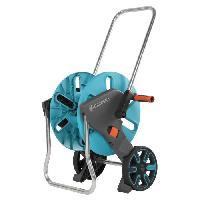 Arrosage GARDENA Dévidoir sur roues Aquaroll M - Fonction Kick&Stand