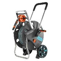 Arrosage GARDENA Dévidoir sur roues équipé AquarollL Easy - Tuyau 30m