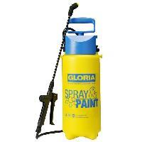 Arrosage GLORIA Pulverisateur a main Gloria - Modele SprayetPaint 5 L - 3 bars - Soupape et buse a jet plat - Joints Viton