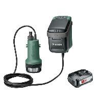 Arrosage Pompe a eau Bosch - Garden Pump 18V -livree avec batterie 18V-2.5Ah et chargeur-