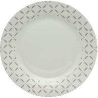 Art De La Table - Articles Culinaires ABS T1908605-GX Service de table 18 pieces - Sylvia Gris