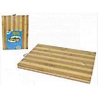 Art De La Table - Articles Culinaires AMBIANCE NATURE - 505491 - Planche a découper bambou 29x22cm