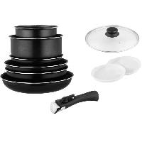 Art De La Table - Articles Culinaires ARTHUR MARTIN AM6094 batterie 10 pieces - Tous feux dont induction
