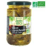 Artichauts Coeurs d'artichauts bio - 280 g