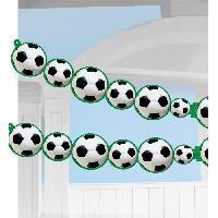 Articles - Decoration De Fete  AMSCAN Guirlande papier Championship Soccer 243 x 14 cm