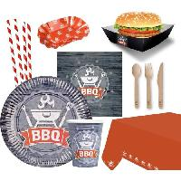Articles - Decoration De Fete  AMSCAN Kit de fete papier barbecue