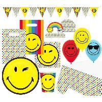 Articles - Decoration De Fete  KIt de Fete Smileyworld 63 Pieces