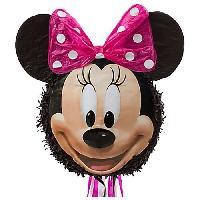 Articles - Decoration De Fete  MINNIE MOUSE Pinata a tirer Minnie Mouse