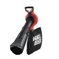 Aspirateur - Souffleur BLACK&DECKER Aspirateur souffleur broyeur électrique - 2800 W - Black & Decker