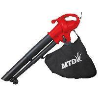 Aspirateur - Souffleur MTD Aspirateur broyeur souffleur 230 v 2500 kw sac souple 45 l volume air 900 m3/h vitesse air 270 km/h