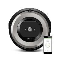 Aspirateur Robot IROBOT ROOMBA E5154 Aspirateur robot connecte - Batterie 1800 mAh Lithium Ion - 0.6 L