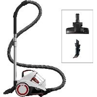 Aspirateur Traineau DIRT DEVIL Aspirateur sans sac DD2424-0 Rebel 34 - 4A - Blanc