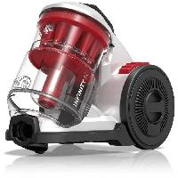 Aspirateur Traineau DIRT DEVIL Aspirateur sans sac multi-cyclonique DD5110-0 - Infinity AC - Rouge Silver