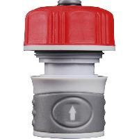 Assainissement (tuyau - Drain - Raccord) Raccord rapide Aquastop - Femelle - Plastique - D15 mm