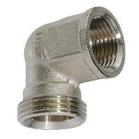Assainissement (tuyau - Drain - Raccord) SOMATHERM Raccord 3-4 EK Eurocone Pour Adaptateur Cuivre. Multicouche ou PER a ajouter - Coude Femelle - Taraudage 1-2