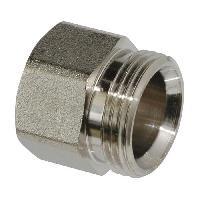 Assainissement (tuyau - Drain - Raccord) SOMATHERM Raccord 3-4 EK Eurocone Pour Adaptateur Cuivre. Multicouche ou PER a ajouter - Droit Femelle - Taraudage 1-2