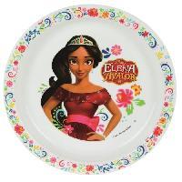 Assiette Fun House Disney elena d'avalor assiette micro-ondable pour enfant