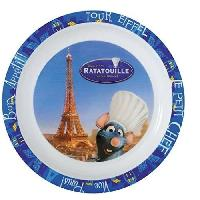 Assiette Fun House Disney ratatouille assiette micro-ondable pour enfant