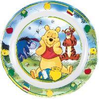 Assiette Fun House Disney winnie assiette pour enfant