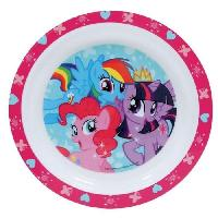 Assiette Fun House My Little Pony assiette micro-ondable pour enfant