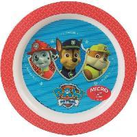 Assiette Fun House Pat Patrouille assiette micro-ondable pour enfant