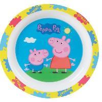 Assiette Fun House Peppa Pig assiette micro-ondable pour enfant