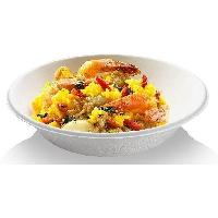 Assiette Jetable NATURESSE - 5254-12 - 12 Bols ronds - Canne a sucre - 400 ml