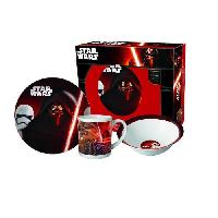 Assiette STAR WARS Set repas - 3 pieces - Porcelaine