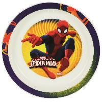 Assiette Spiderman Assiette micro-ondable