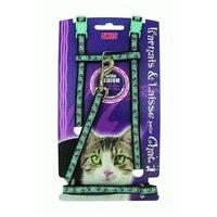 Attache - Sellerie AIME Laisse et harnais imprimee - Taille M - Pour chat