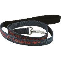 Attache - Sellerie DIEGO et LOUNA Laisse en nylon - 150 cm - Anthracite - Pour chien.