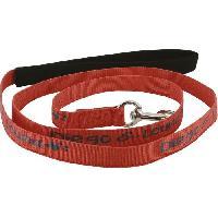 Attache - Sellerie DIEGO et LOUNA Laisse en nylon - 150 cm - Corail - Pour chien.