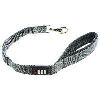 Attache - Sellerie I DOG Laisse Confort - L 60 cm - Noir et gris - Pour chien