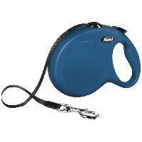 Attache - Sellerie KERBL Laisse-sangle Flexi NewClassic L - Longueur : 8 m - Poids max : 50 kg - Bleu - Pour chien