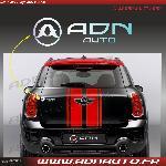 Autocollant ADNAuto - Logo horizontal - Chrome - 11.5cm - ADNLifestyle