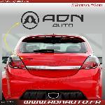 Autocollant ADNAuto - Logo horizontal - Noir - 11.5cm - ADNLifestyle
