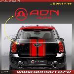 Autocollant ADNAuto - Logo horizontal - Rouge - 11.5cm - ADNLifestyle