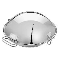 Autocuiseur - Cocotte Minute ARTAME Cataplana en inox - O 32 cm - Gris argente