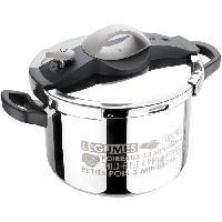 Autocuiseur - Cocotte Minute SITRAM - 711686 autocuiseur sitrapro inox 8l taupe + panier silicone + cuillere silicone grise induction
