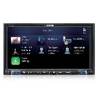 Autoradio Alpine ILX-702D Autoradio multimedia 2 Din Carplay Android - 7 pouces - Bluetooth