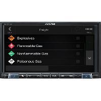 Autoradio Autoradio Alpine INE-W710DC Bluetooth GPS poids-lourd DAB