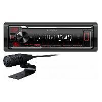 Autoradio Autoradio Kenwood Bluetooth KMM-BT205