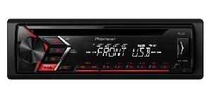 Autoradio Autoradio Pioneer DEH-S100UB rouge CD USB -> DEH-S110UB
