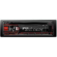 Autoradio CDE-201R - Autoradio CDMP3WMAAACFLAC - USBAux AndroidiPhone- 4x50W