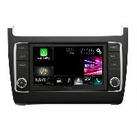 Autoradio Pioneer AVIC-EVO1-PL2-VAL - Integration Navgate Multimedia connecte pour VW Polo 6C ap14 - Noir satin