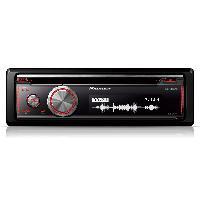 Autoradio Pioneer DEH-X8700BT - Autoradio CDCD-R MP3 WMA AAC FLAC - iPhone Android USB - Bluetooth - 3RCA - 4x50W
